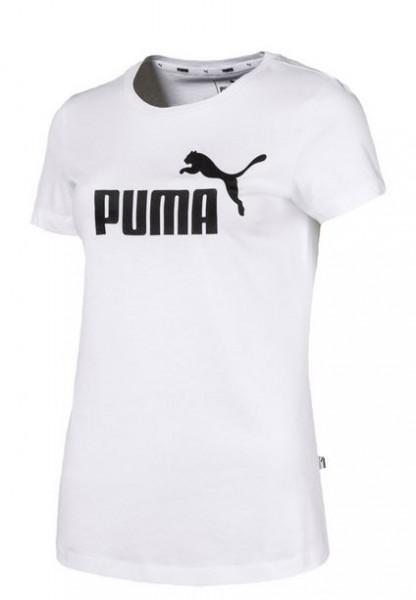 Puma ESS Logo Tee Damen T-Shirt (Weiss 02)