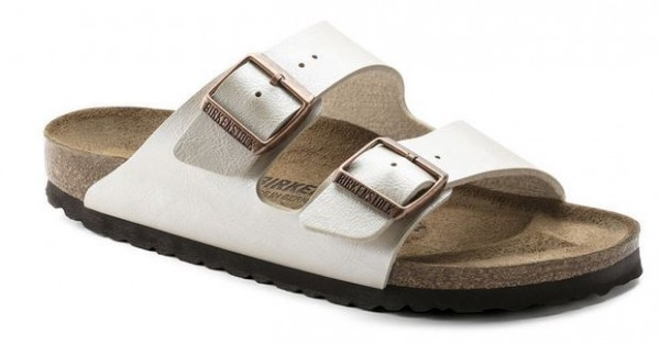 official photos a4b62 bc735 Birkenstock ARIZONA Birko-Flor schmal 1009921(Beige)
