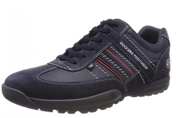 Dockers Herren Halbschuhe 36HT001-204 (Blau 660)