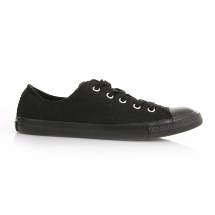 Converse Chucks Taylor All Star Ox Dainty Sneaker 532354C (schwarz mono)