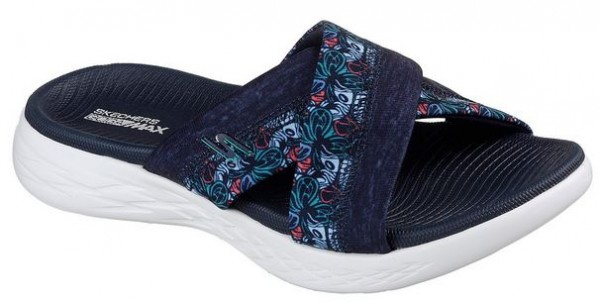 Skechers On the GO 600 Monarch Damen Sandale 15306 (Blau NVY)