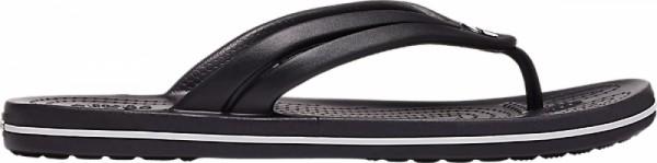 Crocs Crocband Flip Damen Zehentrenner (Black)