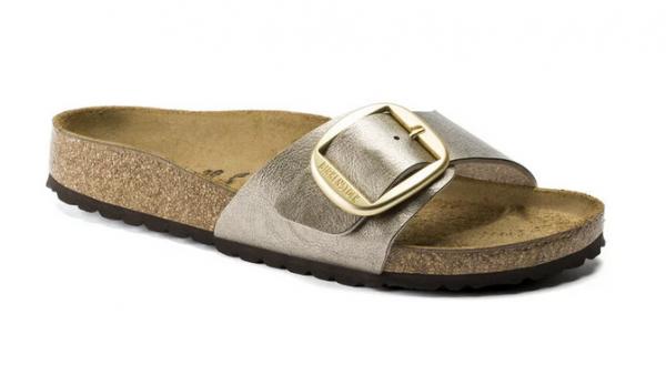 Birkenstock Madrid Big Buckle Damen Sandale schmal 1016237 (Beige)