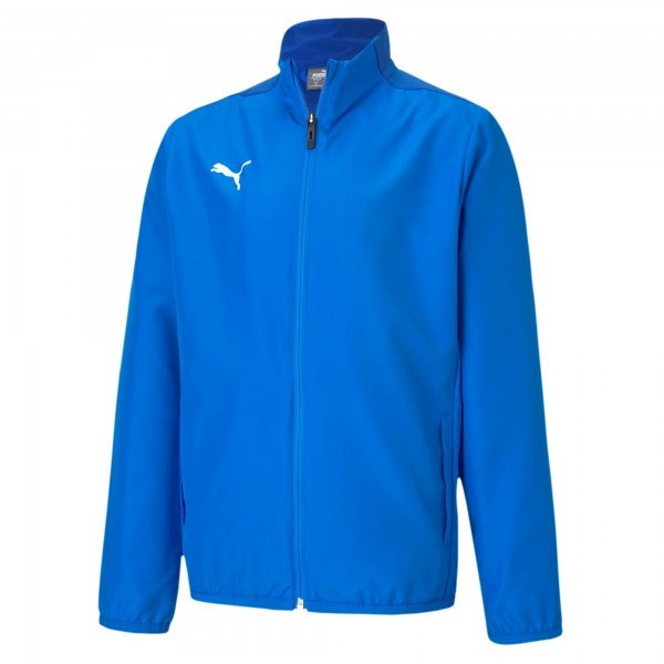 Puma TeamGOAL 23 Sideline Jr Kinder Trainingsjacke 656575 (Blau 02)