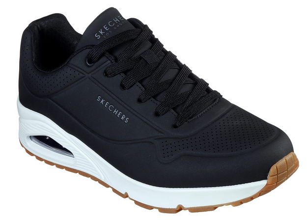 Skechers UNO Stand On Air Herren Sneaker (Schwarz BLK)