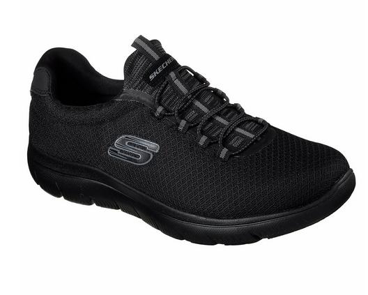 Skechers Summits Herren Sneaker 52811 (Schwarz-BBK)