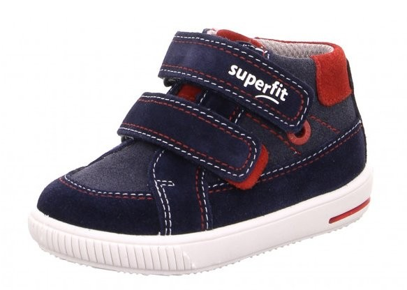 Superfit Moppy Kinder Sneaker 6-06350 (Blau 80)