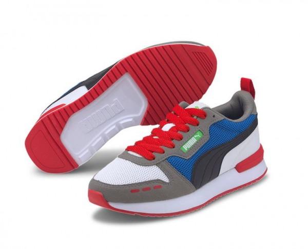 Puma R78 Jr Kinder Sneaker 373616 (Weiß 05)