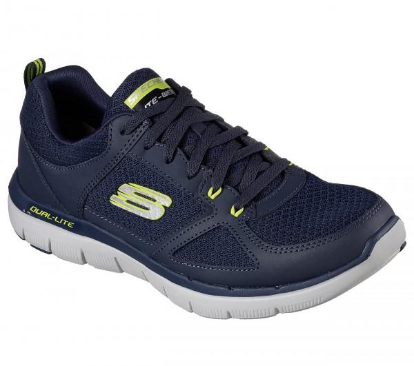 Skechers Flex Advantage 2.0 - Lindmann Herren Sneaker 52189 (Blau-NVLM)