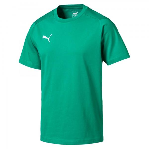 Puma LIGA Casuals Tee Herren T-Shirt 655311 (Grün 05)