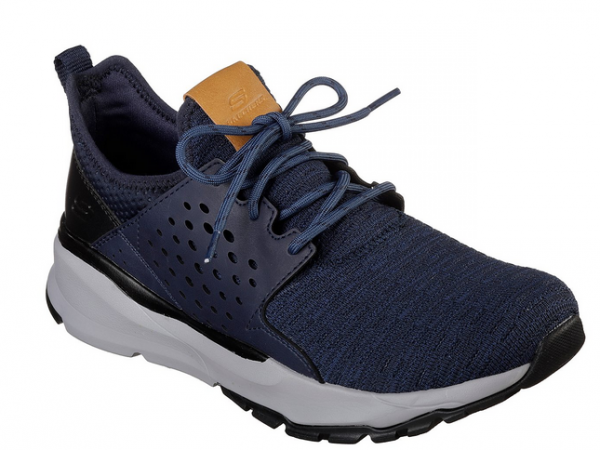 Skechers Relven – Velton Herren Sneaker (Blau-NVY)