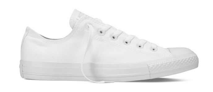 Converse Chucks Taylor All Star Ox Low Unisex Sneaker (White Mono)