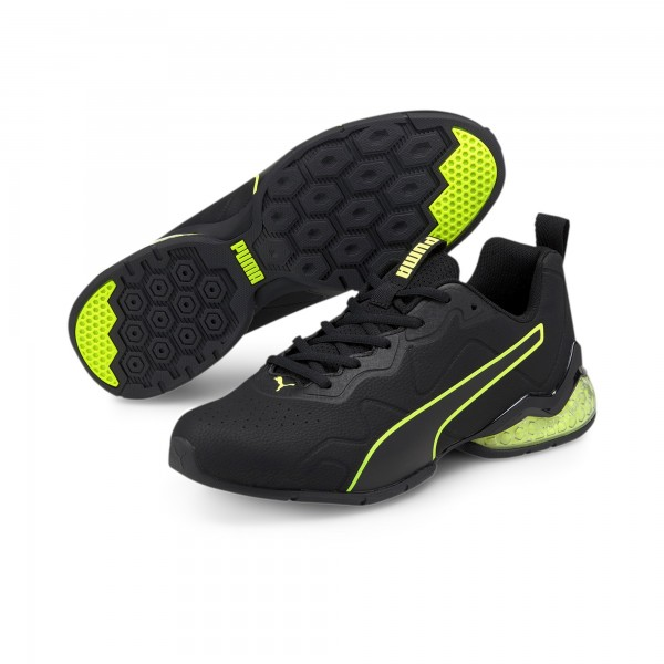 Puma Cell Valiant SL Herren Sneaker 194073 (Schwarz-Gelb 08)