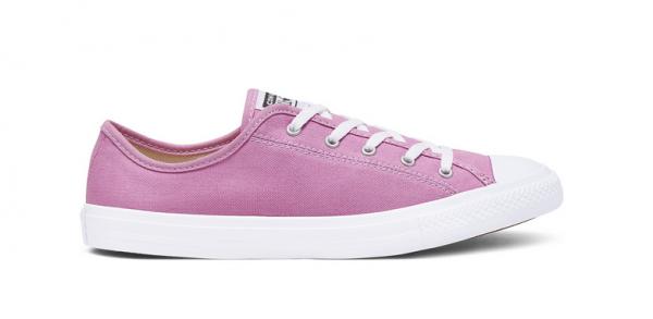 Converse Chuck Taylor All Star Dainty Ox Damen Sneaker 566769C (Pink)