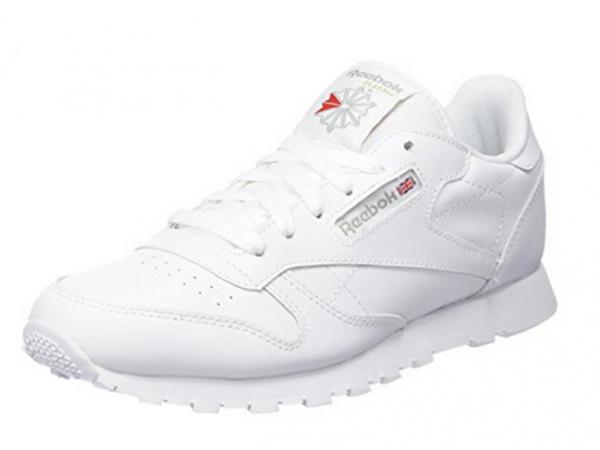 Reebok Classic Leather Kinder Sneaker 50151 (Weiß)
