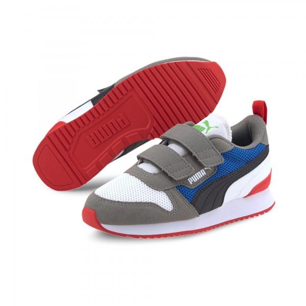Puma R78 V PS Kinder Sneaker 373617 (Weiß 05)