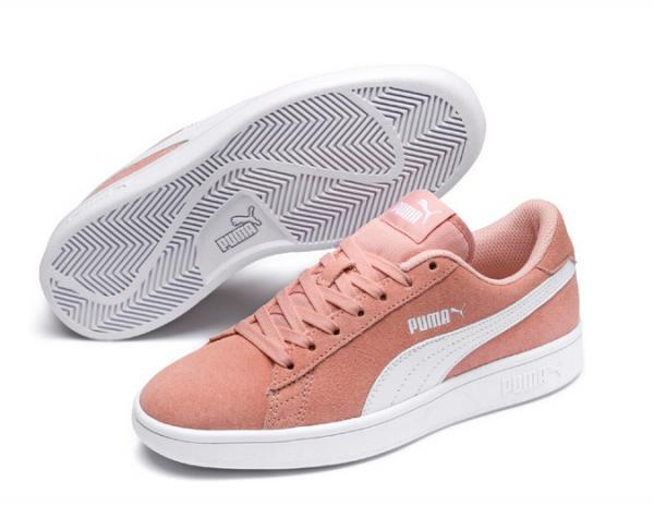 Puma Smash v2 SD Jr Kinder Sneaker (Rosa 16)
