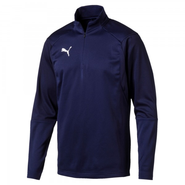 Puma LIGA Training 1/4 Zip Herren Shirt 655606 (Blau 06)