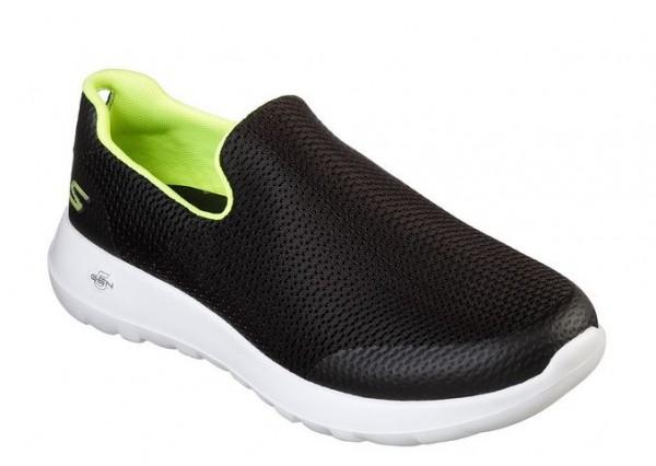 Skechers GoWalk Max - Focal Herren Sneaker 54637 (Schwarz-BKLM)
