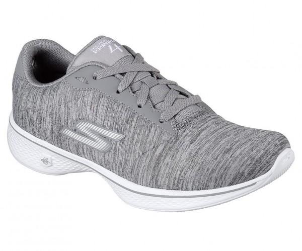 Skechers GOwalk 4 Serenity Damen Sneaker 14173 (Grau-GRY)