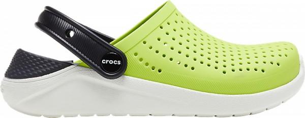 Crocs LiteRide Kinder Clog (Lime Punch/Black)
