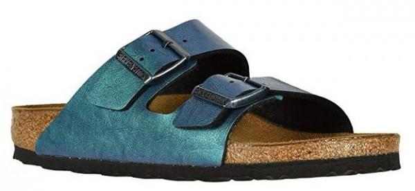 Birkenstock ARIZONA Birko-Flor normal Damen Sandale 1012392 (Blau)
