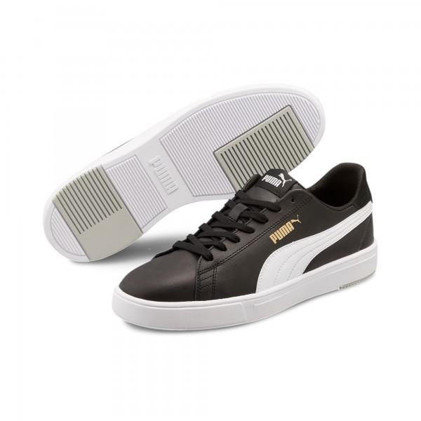 Puma Serve Pro Lite Herren Sneaker 374902 (Schwarz/weiss 02)