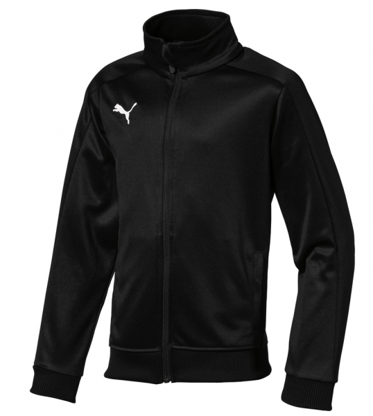 Puma LIGA Casuals Jr Kinder Trainingsjacke 655958 (Schwarz 03)