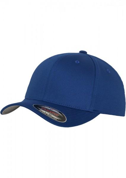 Flexfit Wooly Combed Baseball Cap (Royal-00205)