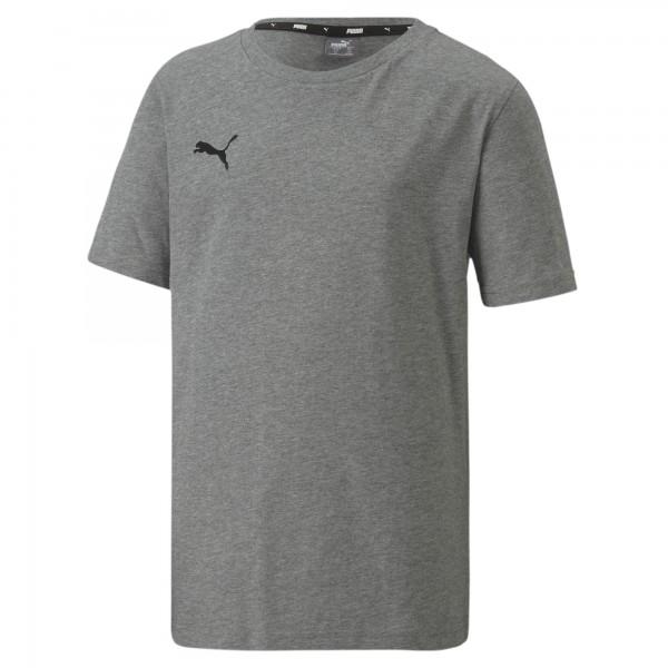 Puma TeamGOAL 23 Casuals Tee Jr Kinder T-Shirt 656709 (Grau 33)