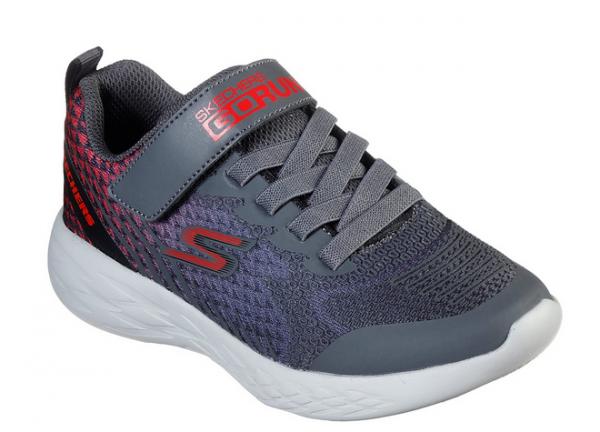 Skechers GoRun 600 - Baxtux Kinder Sneaker 97858L (Grau-CCRD)