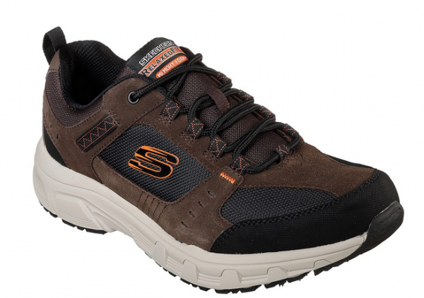 best website f39dc e0297 Skechers Relaxed Fit: Oak Canyon Herren Schuhe (Braun/Schwarz-CHBK)