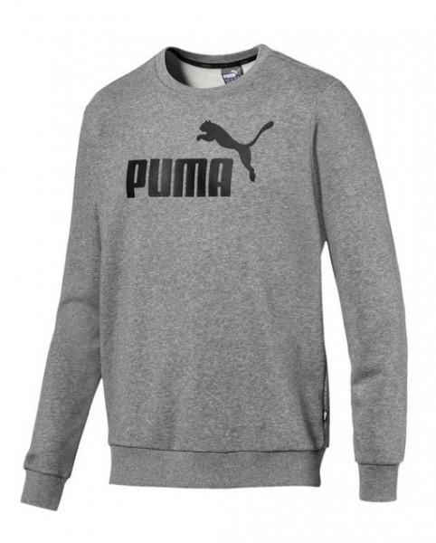 PUMA ESS Logo Crew Herren Sweat (grau 03)