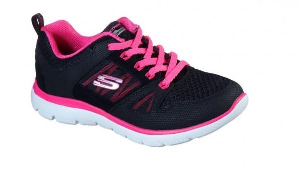 Skechers Summits - New World Damen Sneaker 12997 (Schwarz-BKHP)