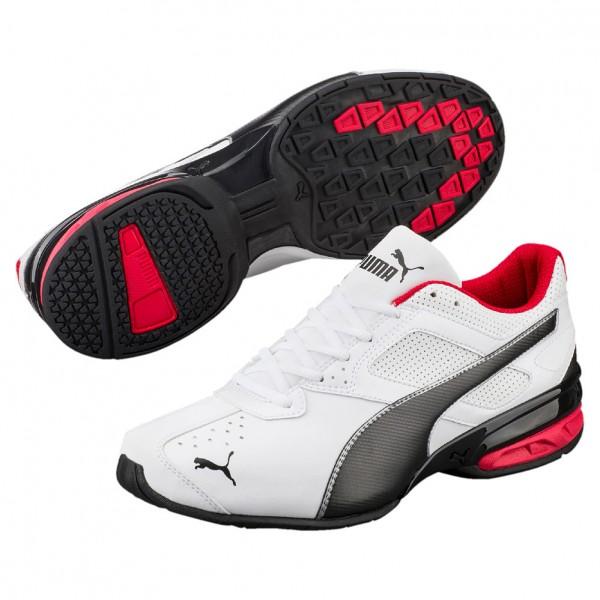 Puma Tazon 6 FM Herren Sneaker 189873 (white-silver 02)