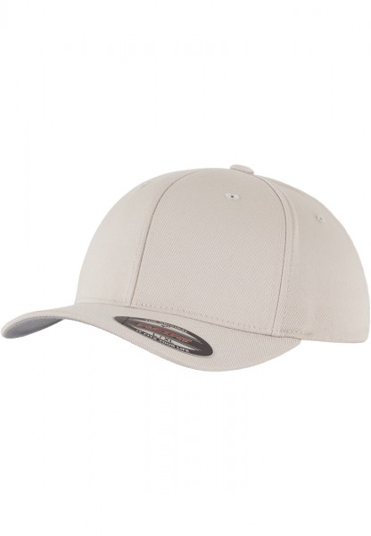 Flexfit Wooly Combed Baseball Cap (Stone 00372)