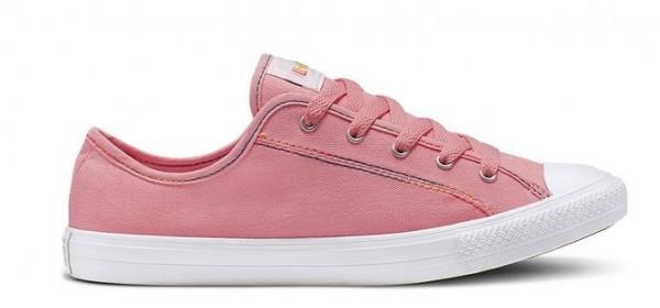 Converse Chucks Taylor All Star Dainty Ox Rainbow Damen Sneaker 564980C(Rosa)