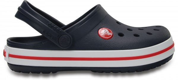 Crocs Crocband Kinder (Navy-Red)