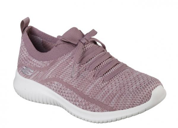 Skechers Ultra Flex - Statements Damen Sneaker 12841 (Violett-LAV)