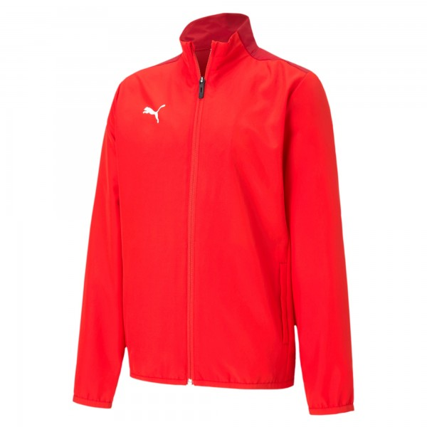Puma TeamGOAL 23 Sideline Jr Kinder Trainingsjacke 656575 (Rot 01)