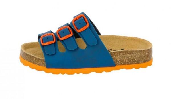 Lico Bioline Kinder Pantolette 560016 (Blau 1230)