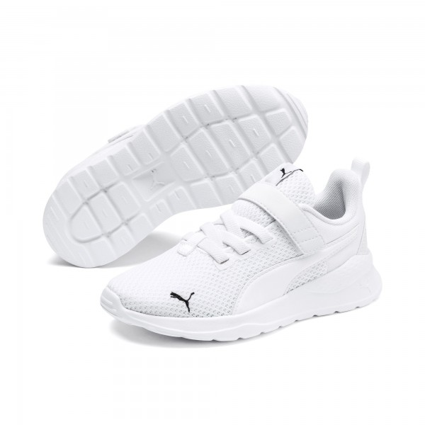 Puma Anzarun Lite AC PS Kinder Sneaker 372009 (Weiß 02)