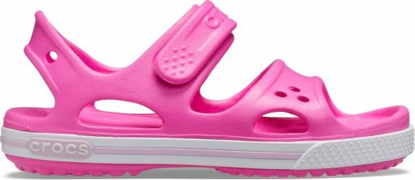 Crocs Crocband II Sandal PS Kinder Sandale (Electric Pink)