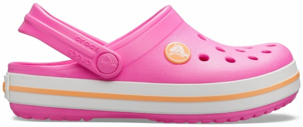 Crocs Crocband Kinder (Electric Pink/Cantaloupe)