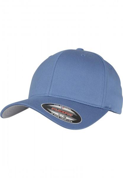 Flexfit Wooly Combed Baseball Cap (Slate blue 01270)