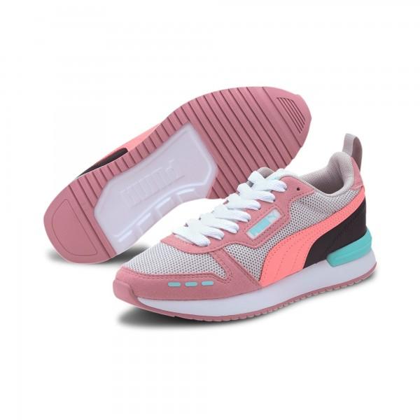 Puma R78 Jr Kinder Sneaker 373616 (Rosa 06)