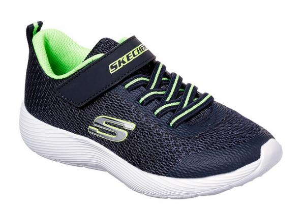 best sneakers c23bf 73196 Skechers Dyna-Lite Kinder Sneaker (Blau-NVLM)