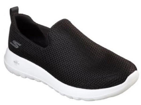 Skechers GOwalk Max Herren Sneaker (Schwarz-BKW)