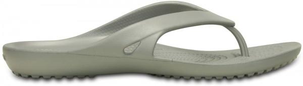 Crocs Kadee II Flip Damen Zehentrenner (Silver)