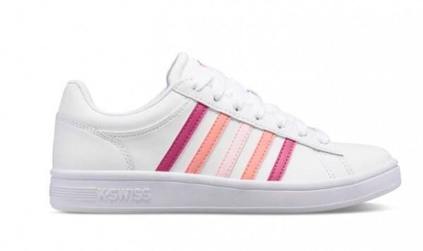 K-Swiss Court Winston Damen Sneaker 96154 (Weiß 129)